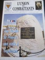 L' Union Des Combattants N° 112 (Anciennement Évades De France - Manana) 1998 : Aux évadés De France, Une Stèle à Capbre - Histoire