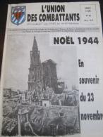 L' Union Des Combattants N° 98 (Anciennement Évades De France - Manana) 1995 : Souvenir Du 23 Novembre 1944 - Histoire