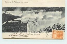 RECUERDO DE MISIONES - Gran Salto Del Iguazu. - Argentine