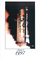 AVION 49   CPM   30 Ans  De Lancements Lancement Européen Ariane 4  23/09/1997 Kourou Guyane - Espace