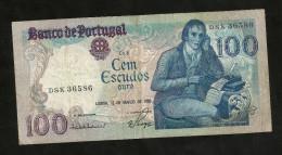 PORTUGAL - BANCO De PORTUGAL - 100 ESCUDOS (1985) - Portugal