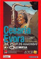 BF40355 Cesaria Evora Alolympia Bruno Coquatrix   Music Opera Singer - Etats-Unis