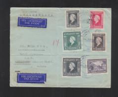 Luchtpostbrief Medan Consulat De Suisse - Niederländisch-Indien