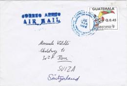 Guatemala 1994 Postal Cover Guatemala - Bern ( Switzerland) - Universitarios Games 1990 - Guatemala