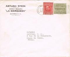 Guatemala 1932 Postal Cover Guatemala Switzerland - General Orellana - Guatemala