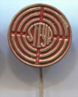 STEYR - Tractor Trattore Tracteur, Vintage Pin Badge - Traktoren