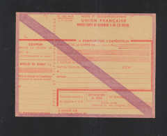 Mandat-Carte De Versement A Un C/C Postal - Sonstige