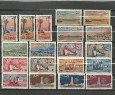 "Somalie Fr.  ""1947""  Scott No. 248-56   (N*)  Complet - Costa Francesa De Somalia (1894-1967)"