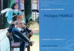 Francq - Largo Winch - Carte Promo Expo 2002 - Livres, BD, Revues