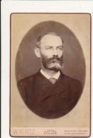 PHOTO - Cabinet - Portrait D´Homme - W. Kurtz, New York - Anciennes (Av. 1900)