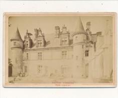 PHOTO - Cabinet - Chateau D'AMBOISE, Façade Louis XII - N.D. - Photos