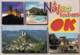 12 -  Carte à Trou, NAJAC - Najac