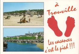 14 -  Carte à Trou, TROUVILLE - Trouville