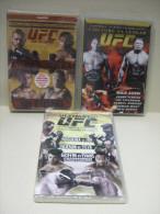 3 DVD : UFC 81 Point De Rupture / UFC 91 Couture Vs Lesnar / UFC 92 Ultimate 2008 - Neuf - Sport