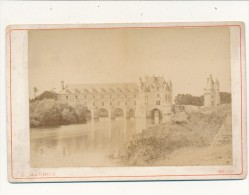 CHENONCEAUX, Indre Et Loire - Photo Cabinet - Le Chateau, Façade Orientale - E. Maurice, Blois