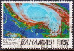 BAHAMAS 1991 SG #915 10c VF used Hurricanes