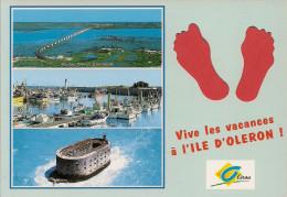 17 -  Carte à Trou, ILE D'OLERON - Ile D'Oléron