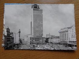 Bruxelles, Place Rogier ----> Beschreven - Lanen, Boulevards