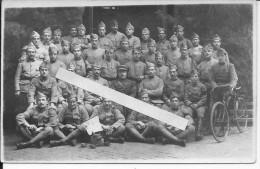 Aix La Chapelle Occupation Ruhr Soldats Français Du 10ème R.I Dont 1 Cycliste 1 Carte Photo 1914-1918 14-18 Ww1 Wk1 - War, Military