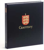 DAVO 4841 Luxus Binder Briefmarkenalbum Guernsey I - Albums à Bandes