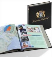 DAVO 344 Luxus Binder Briefmarkenalbum Niederlande Grenzeloos Nederland - Klemmbinder