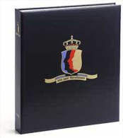 DAVO 140 Luxus Binder Briefmarkenalbum 100 Jahre Queens - Klemmbinder
