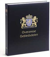 DAVO 844 Luxus Binder Briefmarkenalbum In Übersee Terr. IV - Albums Met Klemmetjes