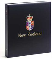 DAVO 6945 Luxus Binder Briefmarkenalbum Neuseeland V - Albums Met Klemmetjes