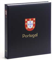 DAVO 7542 Luxus Binder Briefmarkenalbum Portugal II - Klemmbinder