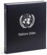 DAVO 8240 Luxus Binder Briefmarkenalbum Vereinten Nationen (keine Zahl) - Klemmbinder
