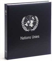 DAVO 8241 Luxus Binder Briefmarkenalbum United Nations I - Albums Met Klemmetjes