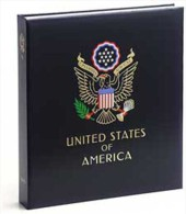 DAVO 8442 Luxus Binder Briefmarkenalbum USA II - Klemmbinder
