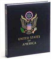 DAVO 8443 Luxus Binder Briefmarkenalbum USA III - Klemmbinder