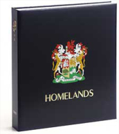 DAVO 9342 Luxus Binder Briefmarkenalbum Südafrika Heimat II - Albums Met Klemmetjes