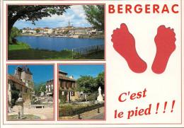 24 -  Carte à Trou, BERGERAC - Bergerac