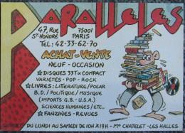 Jano - Carte De Visite Librairie - Livres, BD, Revues