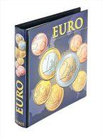 Lindner 1608M Album Pré-imprimé Séries Euro Courantes: Tous Les Pays Euro - Klemmbinder