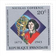 RWANDA 1973 NICCOLO´ COPERNICO MNH - Rwanda