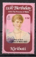 Kiribati 1982 - Mary Of Teck Principessa Del Galles Princess Of  Wales MNH ** - Kiribati (1979-...)