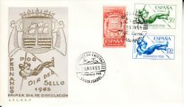FERNANDO POO 1965. SOBRE  1er. DIA. FDC    DIA DEL SELLO  EDIFIL Nº 245/247   CN2977 - Fernando Po