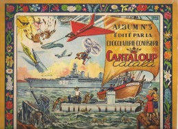 Une Image à Choisir De L´album D´images Collées : Album N° 3 Du Chocolat Cantaloup-Catala. Vers 1950. Aviation, Bateaux - Chocolate