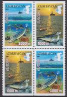 Azerbaidjan - Azerbaijan - Azerbaycan 2001 Yvert 417a-18b, Europa Cept, From Booklet - MNH - Azerbaiján