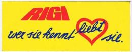 Vignette Autocollante RIGI - Stickers