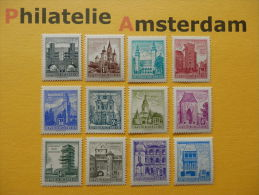 Austria 1958-60, BAUWERKE: Mi 1044-55, ** - 1945-.... 2nd Republic