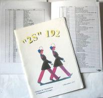 BULLETIN « 2S » 192  (PROMOTIONS De SAINT-CYR) - Livres, Revues & Catalogues