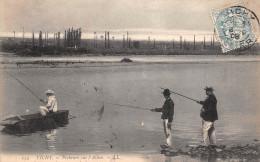 ¤¤  -  254   -  Pêcheurs à La Ligne Sur L'Allier  -  Pêche   -  Vichy   -   ¤¤ - Pesca