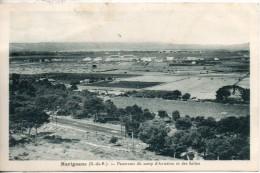 13. Marignane. Panorama Du Camp D'aviation Et Des Salins - Marignane