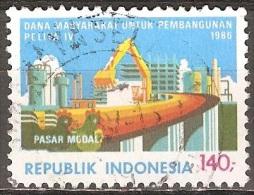 Indonésie - 1986 - Constructions Et Pont Autoroutier - YT 1082 Oblitéré - Indonésie