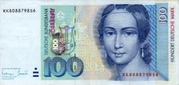 Germany,1996,100 DM, Serie:KK/S, As Scan! - [ 7] 1949-… : RFA - Rep. Fed. Tedesca