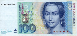 Germany,1996,100 Dm,P.46,Ro#310b,as Scan! - [ 7] 1949-… : RFA - Rep. Fed. Tedesca